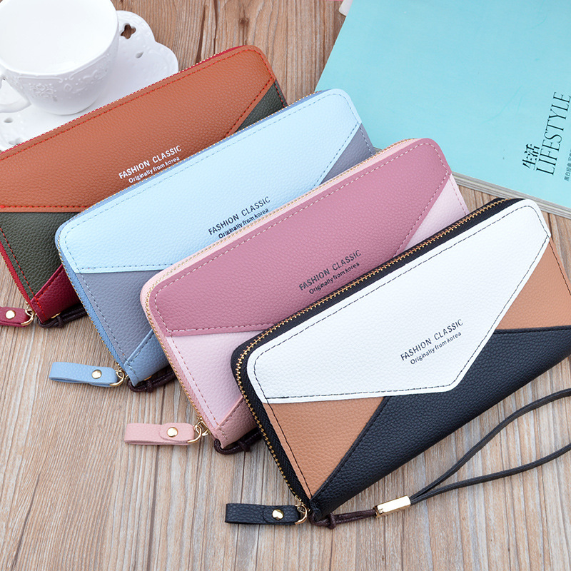 Korean Style Big Wallet for Cards and Mobile Phones