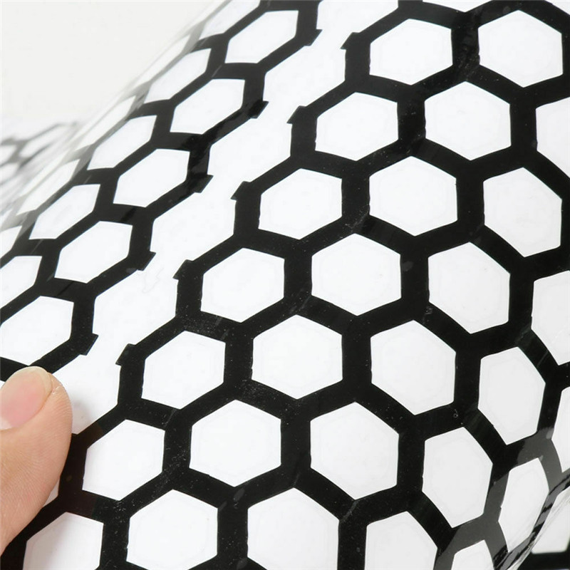 Honeycomb Patterned Stickers for Cars