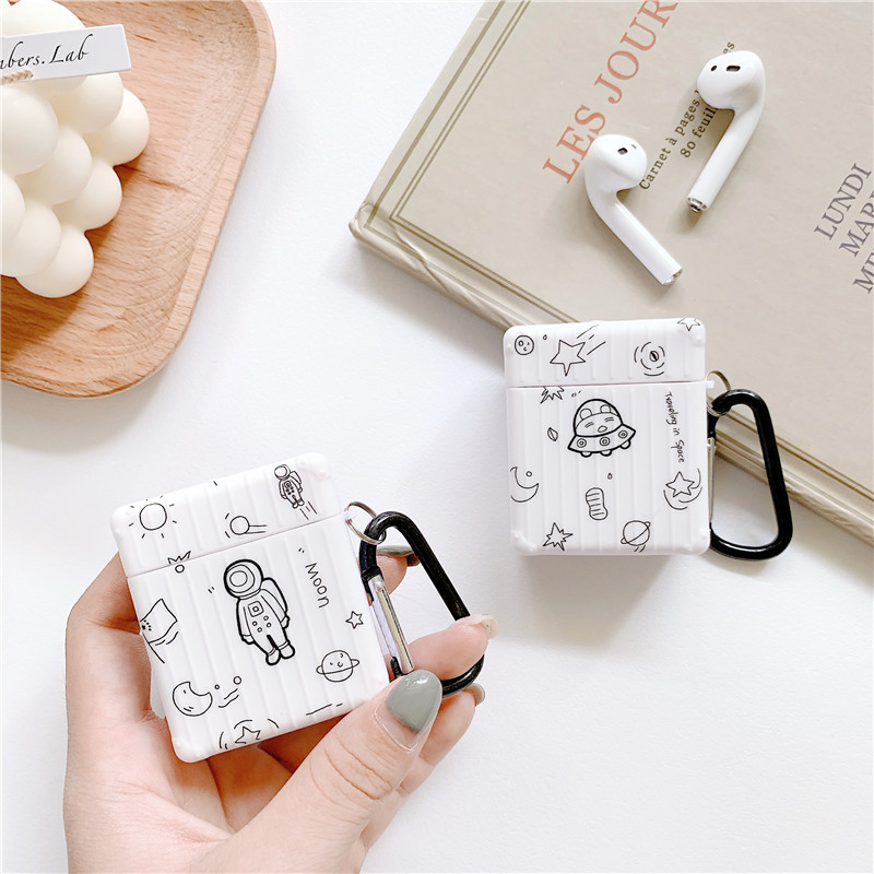 Doodles from Outerspace Airpods Case