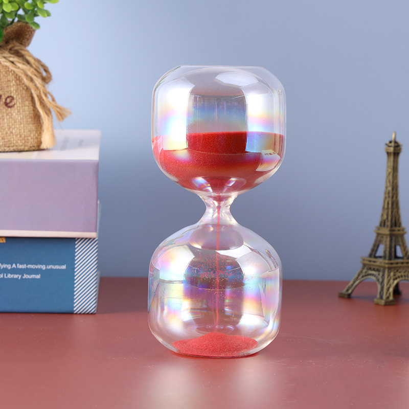 Ruby Red Sand Hourglass
