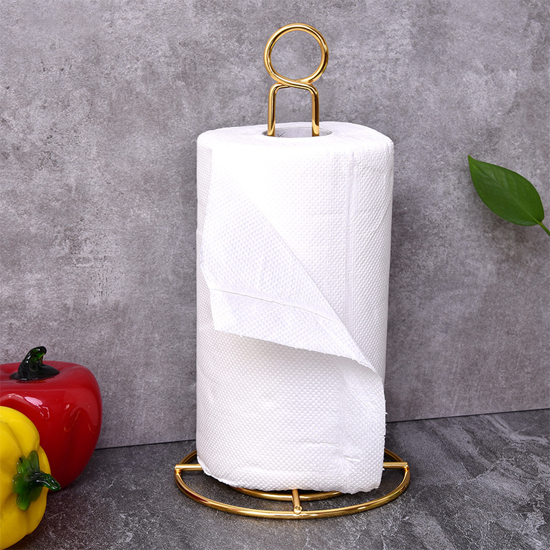 Golden Paper Towel Holder