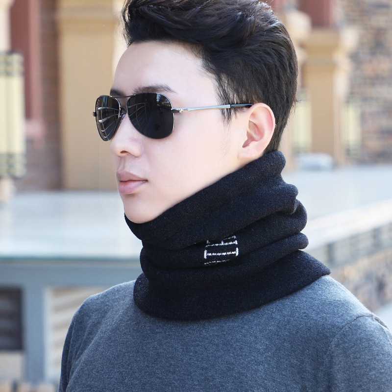 Multifunctional Artificial Wool Face Scarf for Stormy Weather