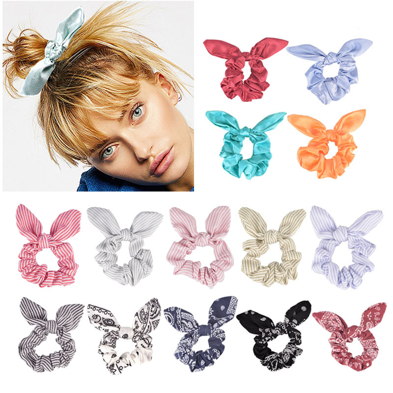 Bunny Ears Inspired Scrunchie