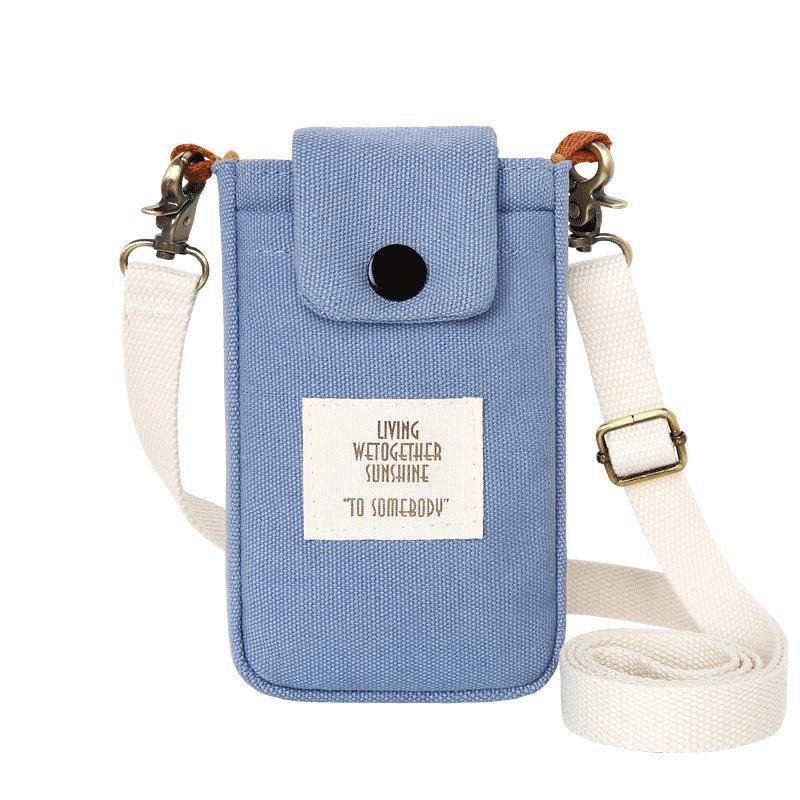 Canvas Mobile Phone Bag