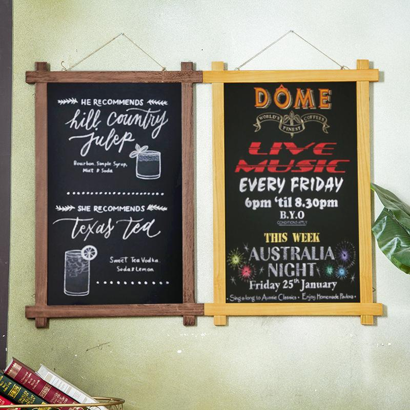 Retro Wall Chalkboard