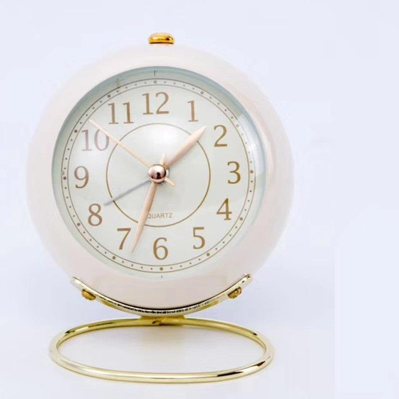 Pastel Bedside Alarm Clock for Birthday Gifts