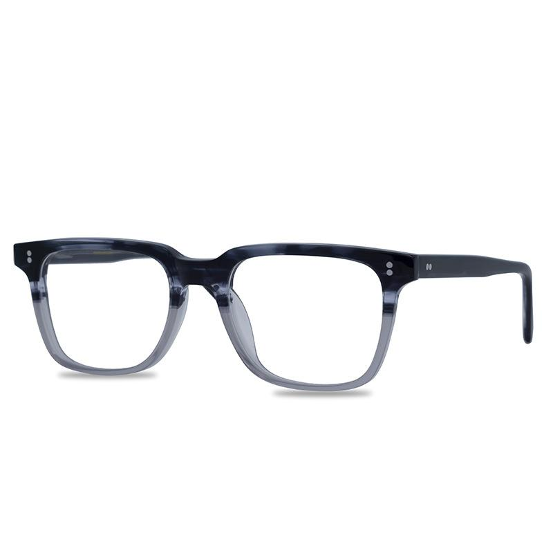 Turtle Shell Square Frame Glasses