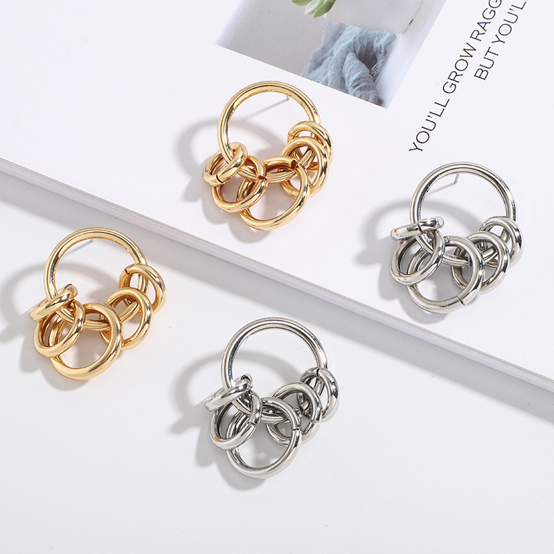 Unique Ring Earrings for Matching Sophisticated Outfits