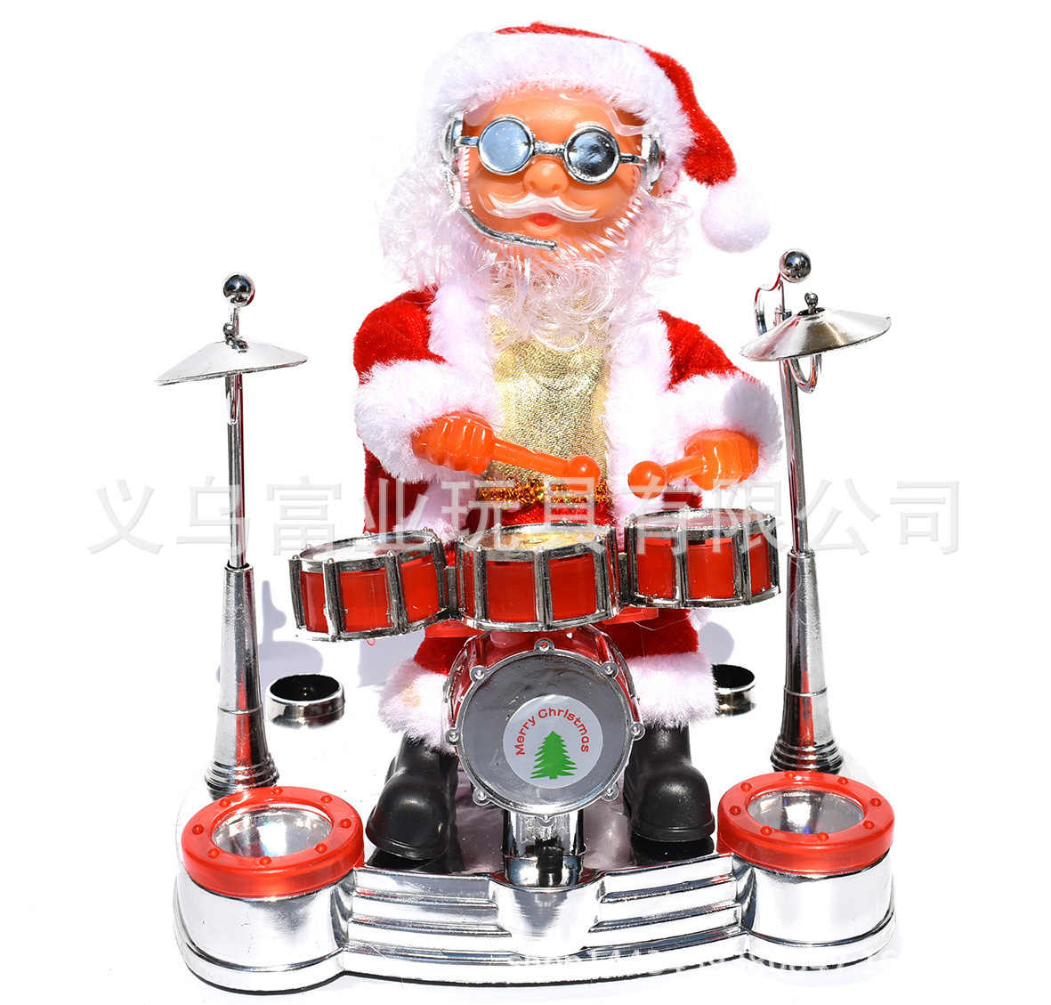Iconic Musician Santa Claus Toy for Christmas Gifts