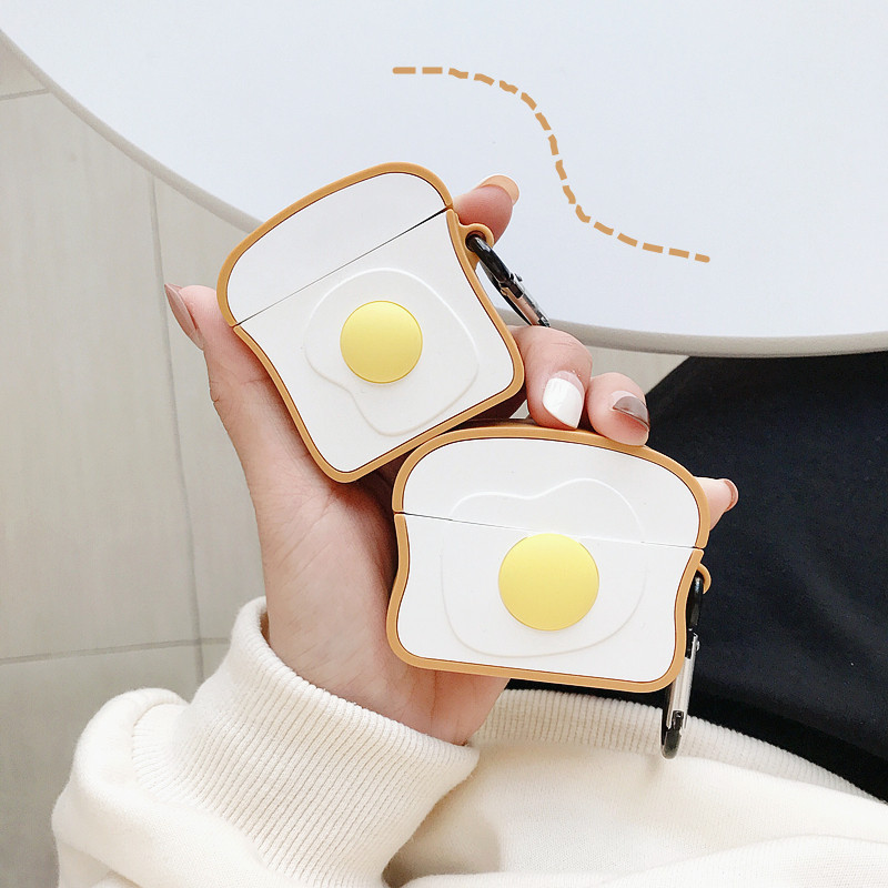 Toast and Egg Airpods Case