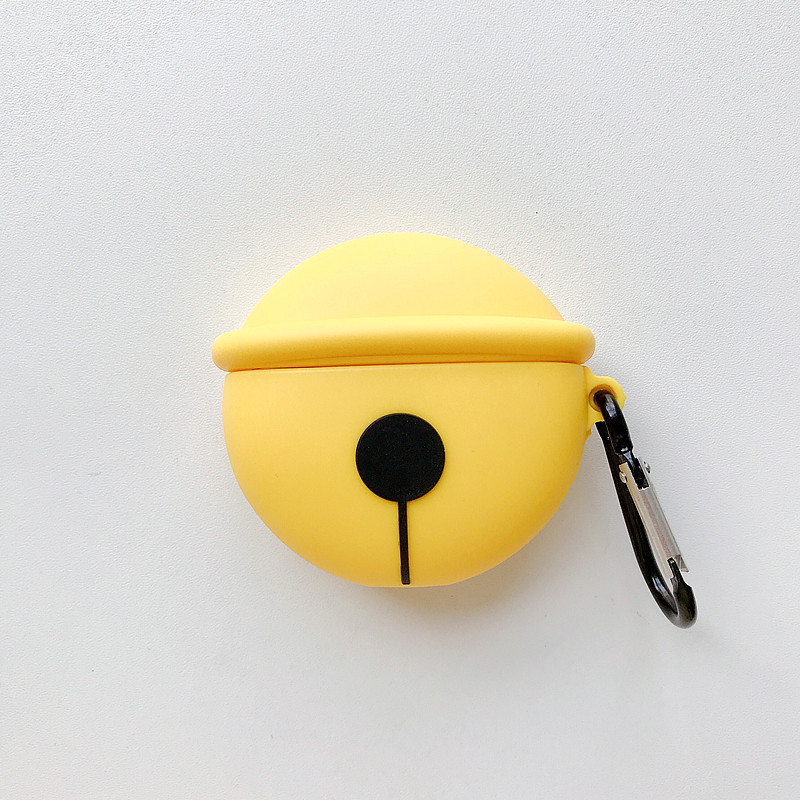 Happy Yellow Airpods Case