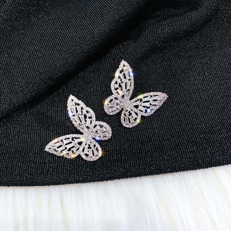 Gallant Butterfly Stud Earrings