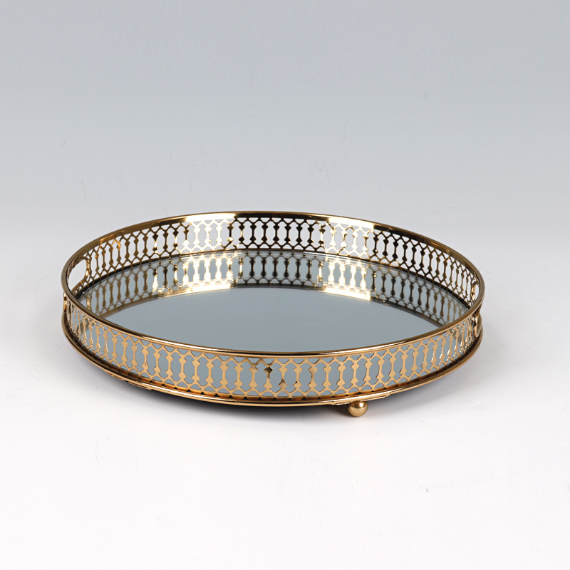Round Lux Tray for Jewelry