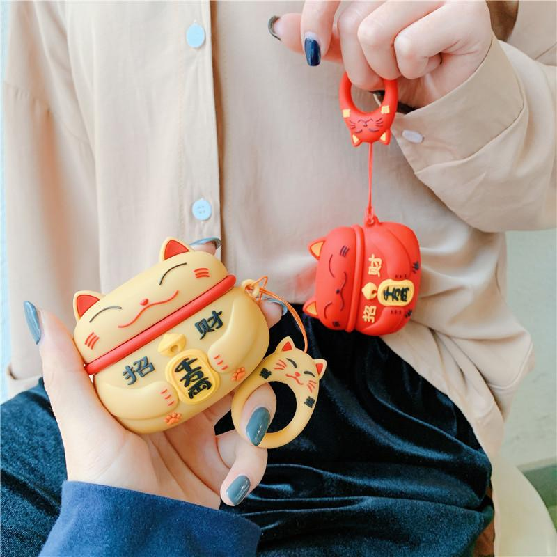 Lucky Chinese Cat AirPods Case