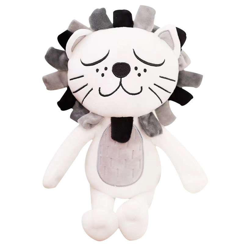 Cute Lion Plush Toy for Bed and Couch Companion