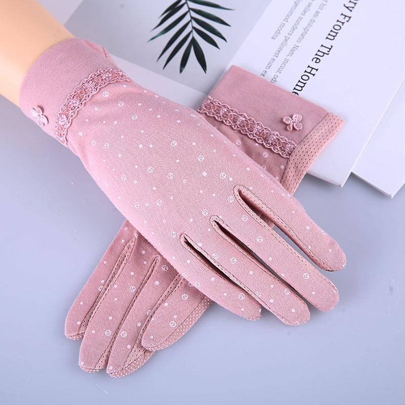 Adorable Small Anchor Print Gloves for Casual Wear