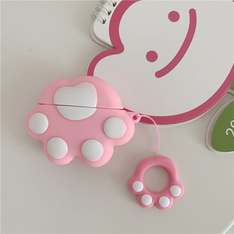 Cute Kitten Paw Airpods Case