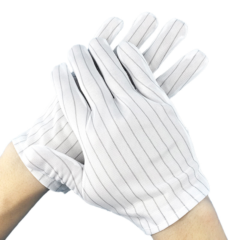 Stripe Anti-Static Gloves for Daily Use