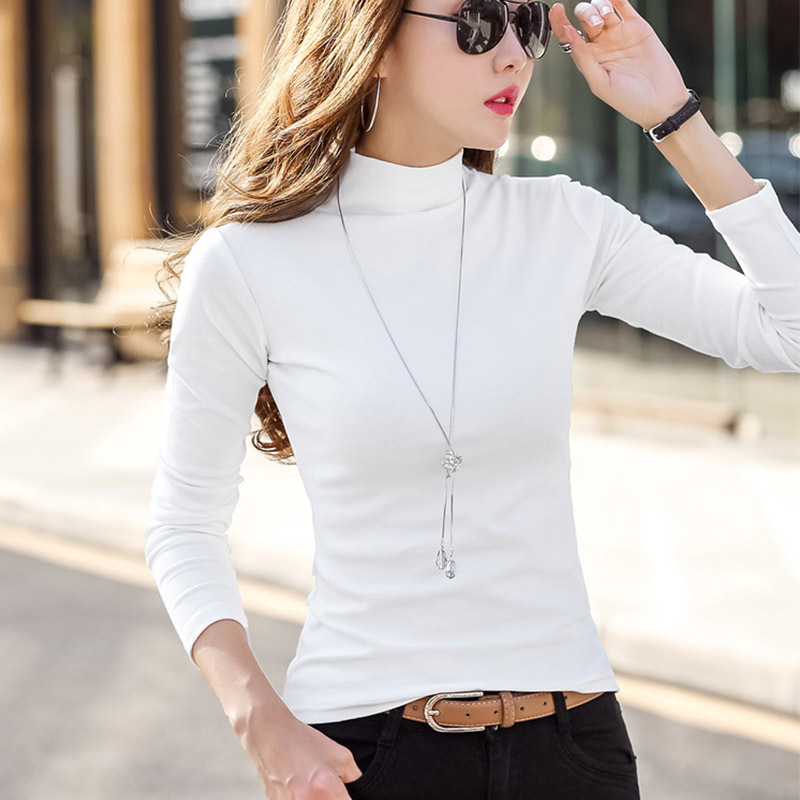 Plain Slim-Fit turtle Neck Sweater for Women's Stylish Winter Outfits
