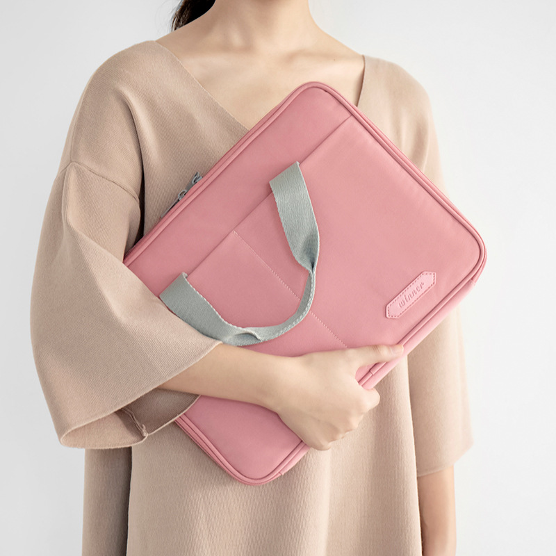 Cute Two-Way Rectangular Bag for Business Essentials