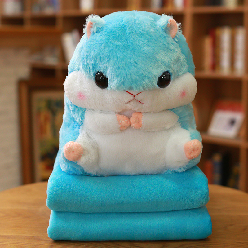 Let Me Warm You! Hamster Plushie and Blanket