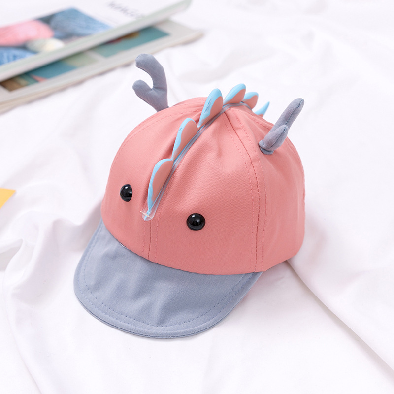 Pastel Dragon Head Cap
