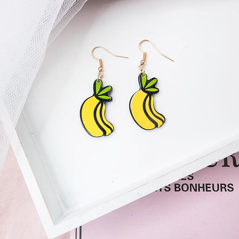 Bright Yellow Earrings Collection