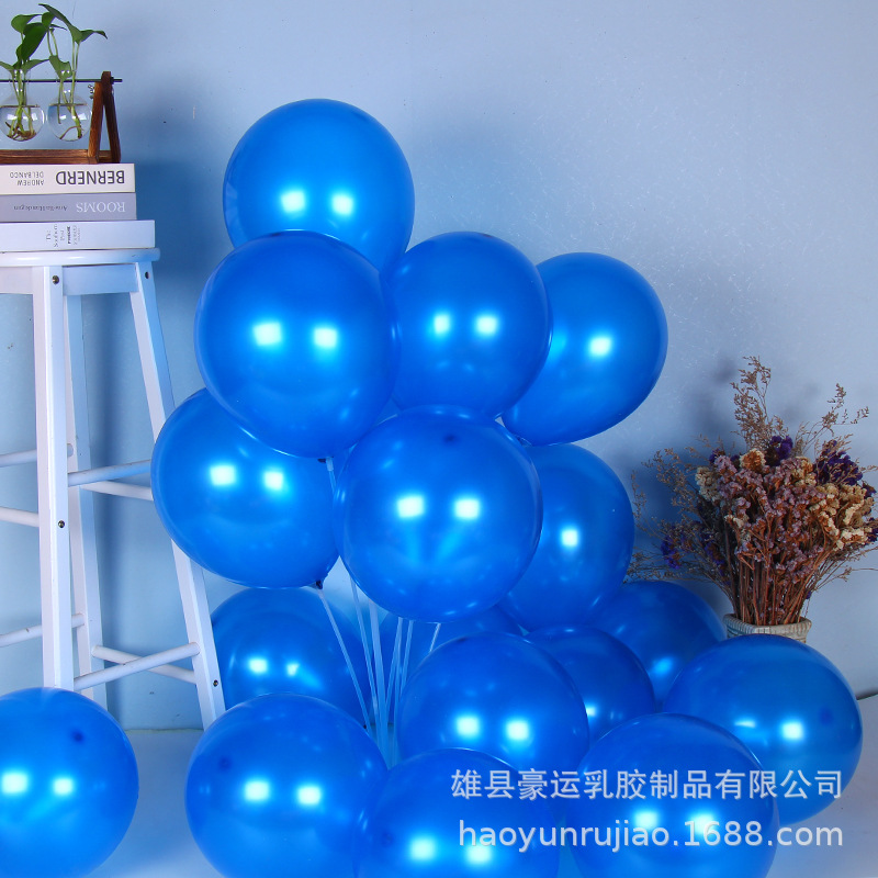 """Brightly Colored 12"""" Balloons for Decor"""