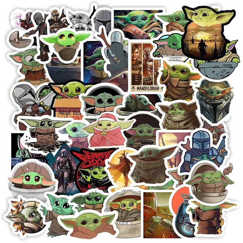 Baby Yoda Sticker 50 Pack