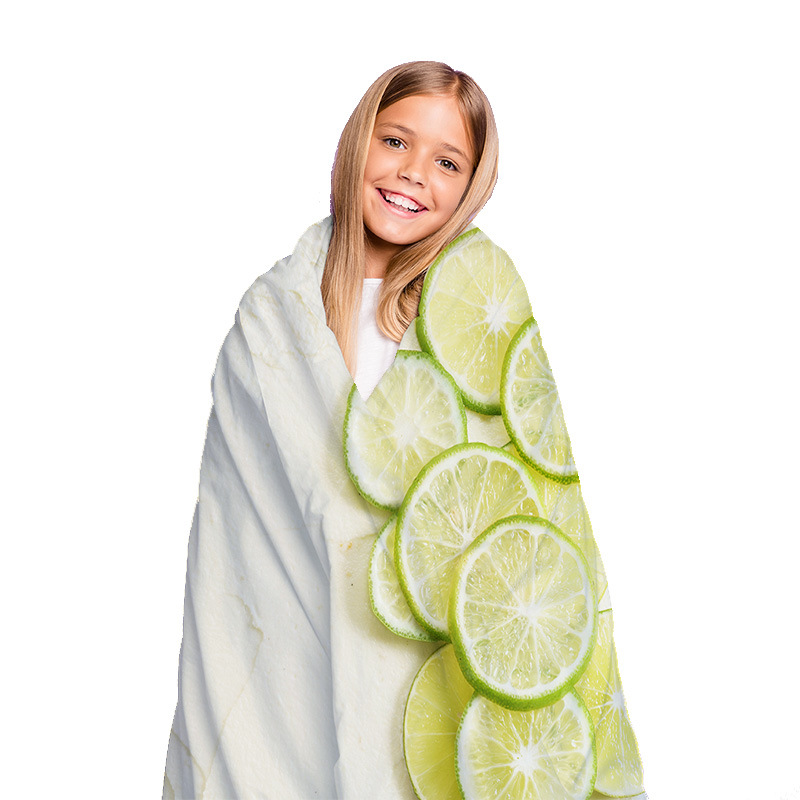 Yummy Cake Designed Blanket for Essential Use