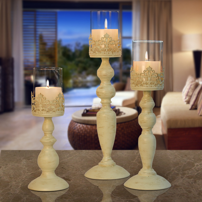 Elegant Candle Holder for Creative Dining Table s