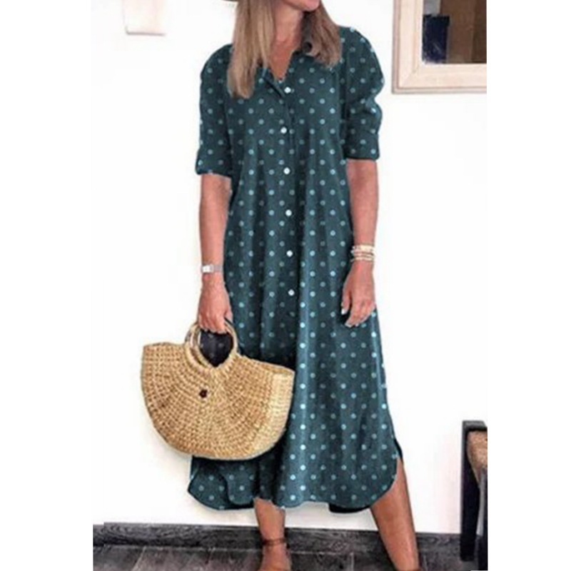 70s-inspired Polka Dots Dresses for Summer Fashion