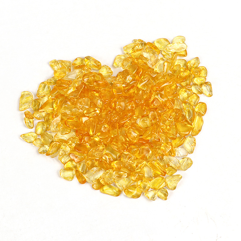 Hued Synthetic Resin Beads for Making Accessories