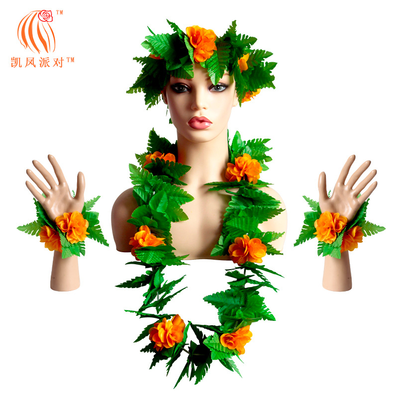Lovely Hawaiian Party Garland Set for Party Use (4pcs/Set)