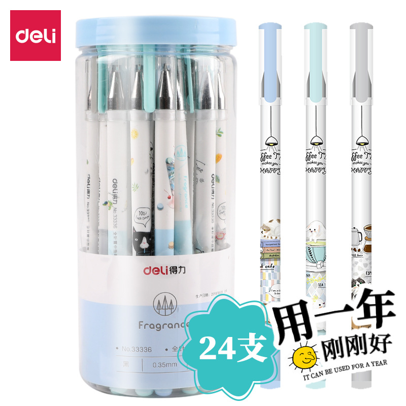 Charming Cartoon Gel Pen for Gifts to Secondary Students