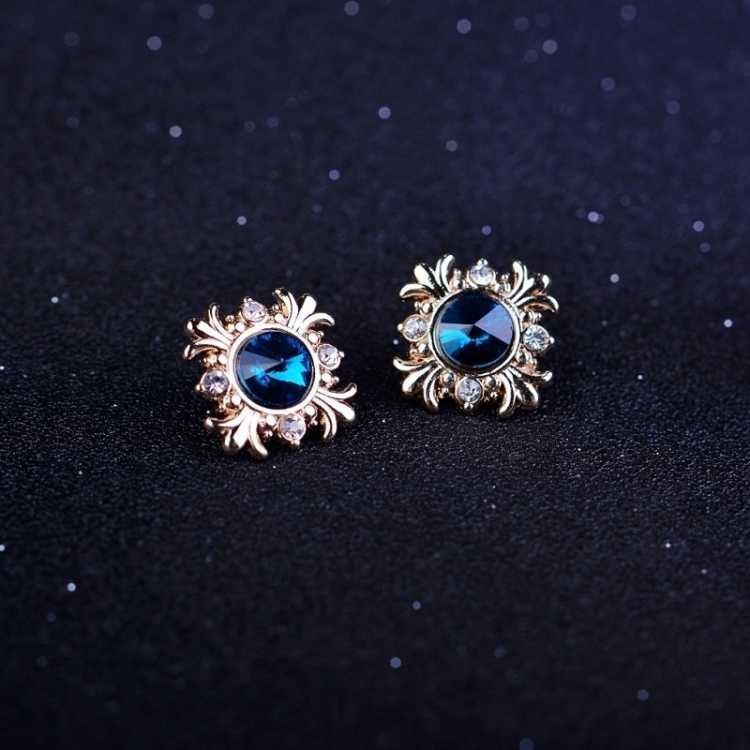 Luxurious Faux Crystal Collar Pins for Fancy Dinner Parties