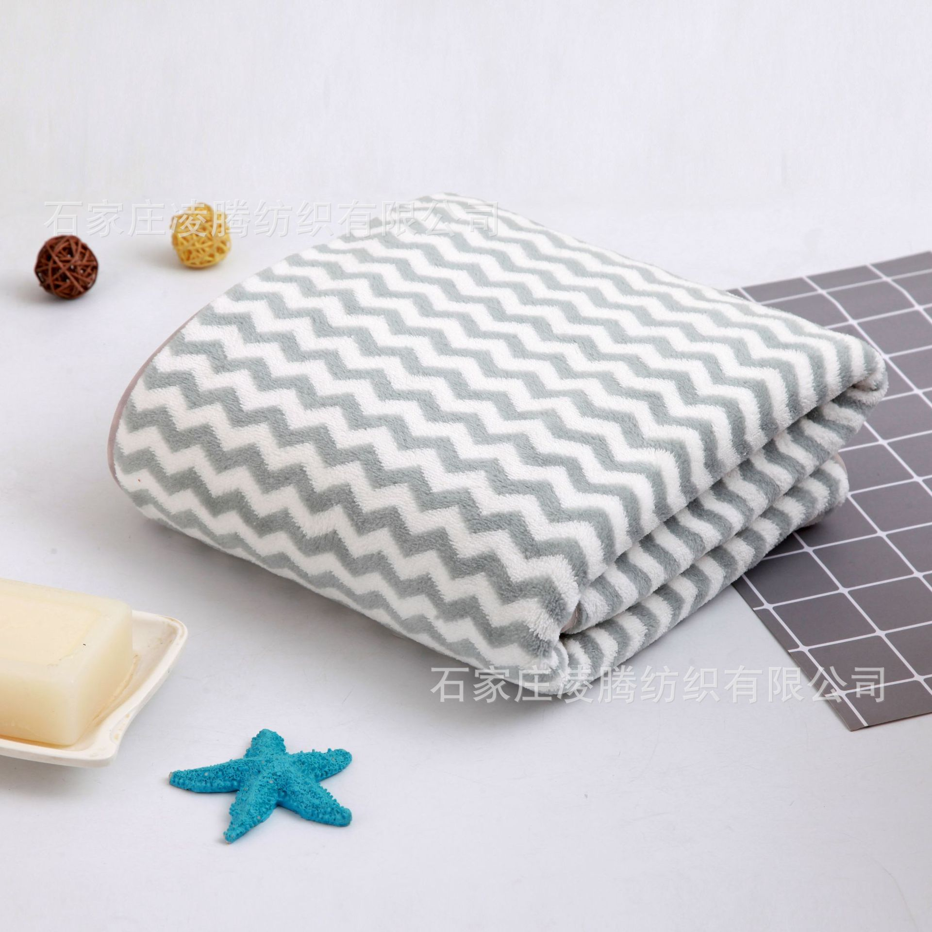Absorbent Quick-Drying Microfiber Towel for Daily Bath Supplies