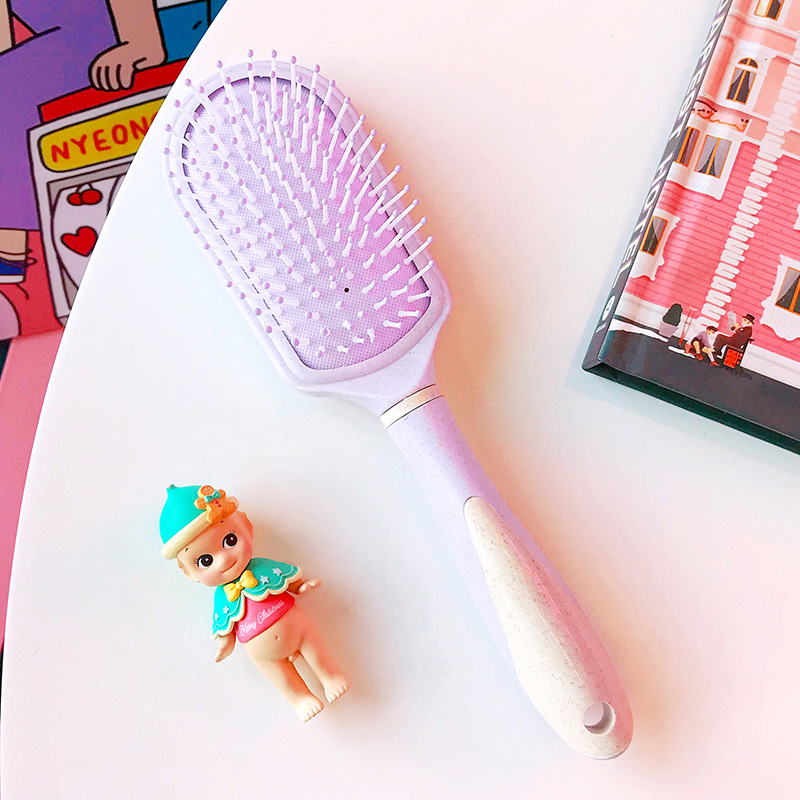 Babygirl Pink and Purple Hair Brushes