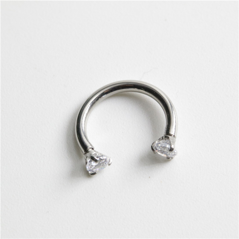 Stainless Steel C-Shaped Piercing for Body Piercings
