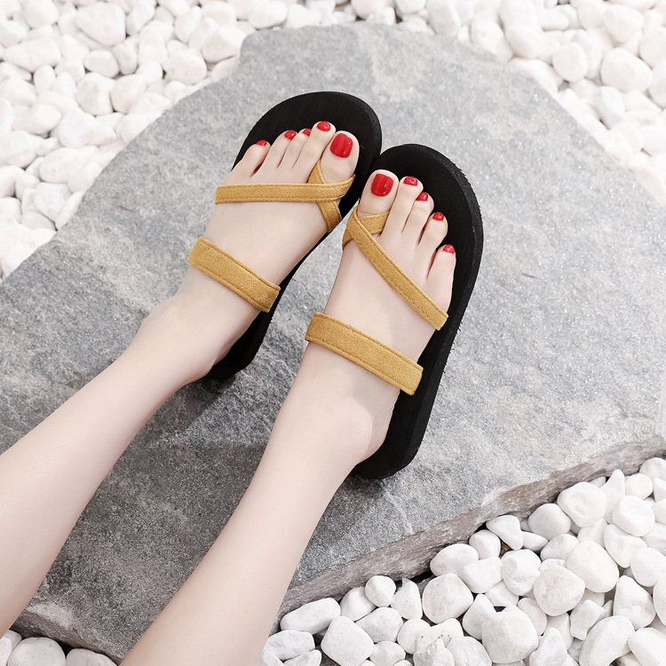 Minimalist Outdoor Sandals for Quirky Beach Parties