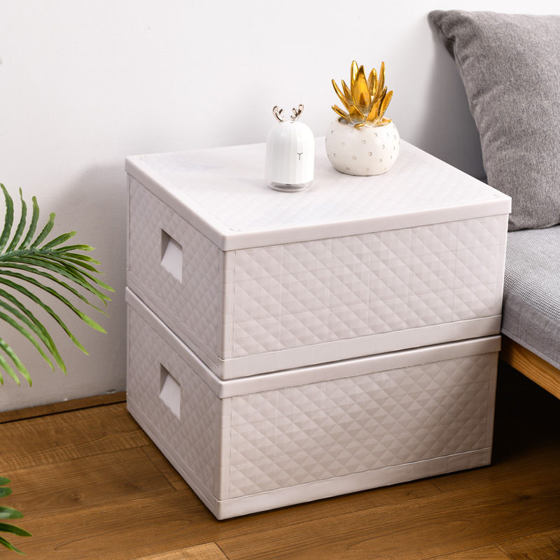 Multi-Functional Folding Storage Box for Household Use