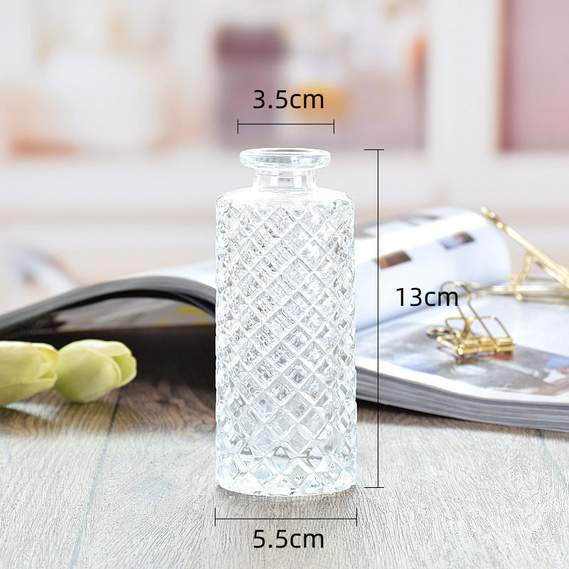 Intricate Glass Vase for Displaying Flowers