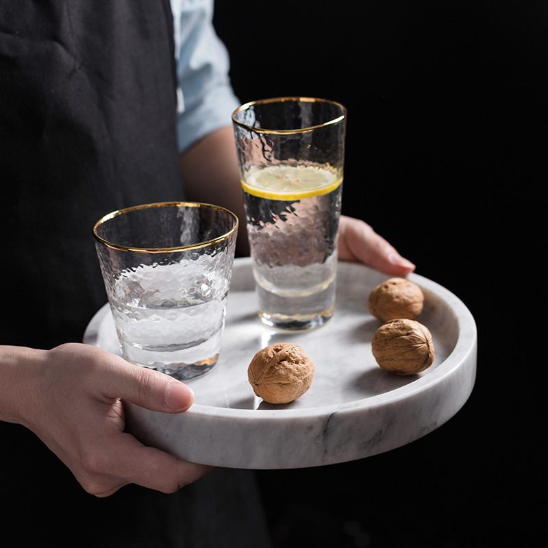 Marvelous Marble Tray for Added Dining Aesthetic