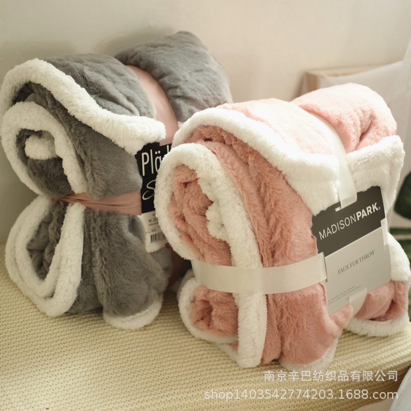 Thick Plush Blanket for Sleep