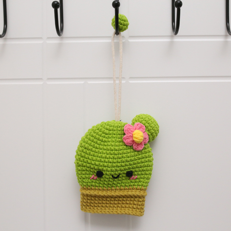 Cute Knitted Keychain for Keeping Keys