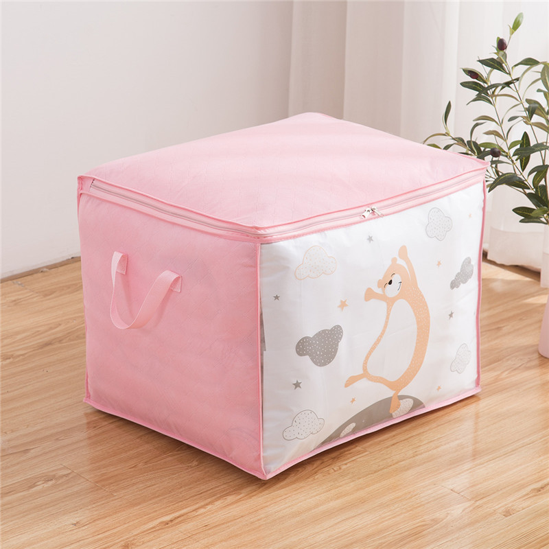 Moisture-Proof Baggage Bag with Print for Storing Bedsheets