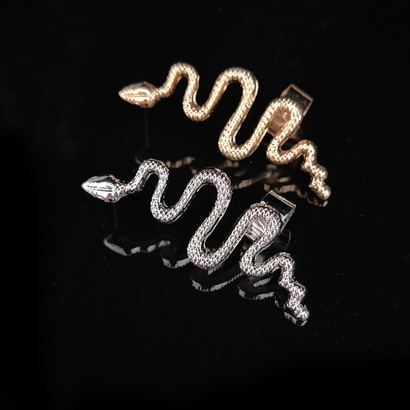 Unique Snake Ear Cuff Clip for Punk Style