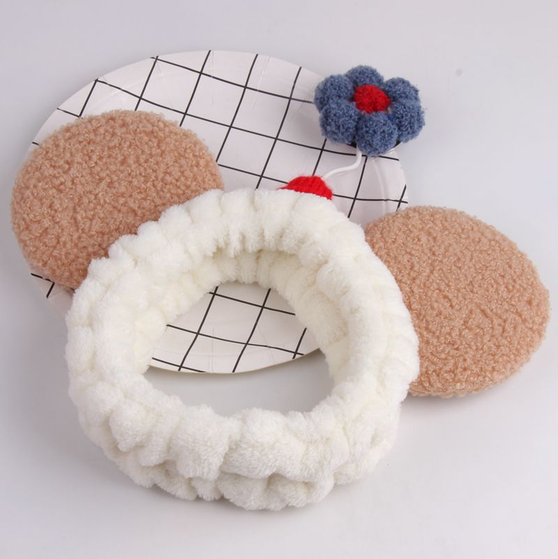 Cute Stretchable Colorful Fuzzy Headband for Any Occasion