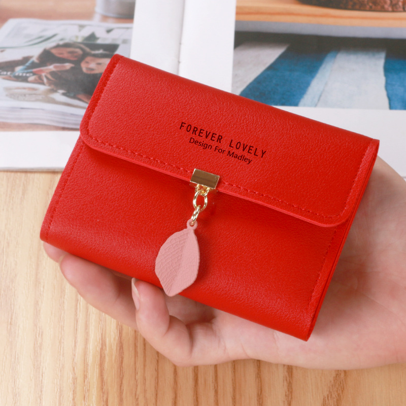 Lovely Faux Leather Wallet for Storing Your Cards
