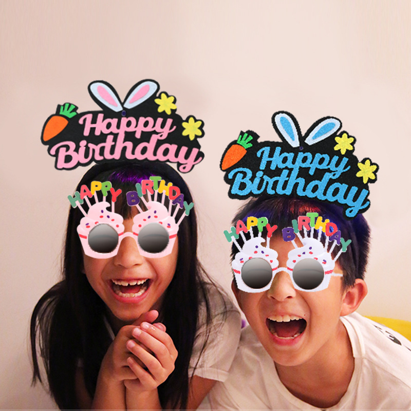 Creative 'Happy Birthday' Accessories for Surprise Parties